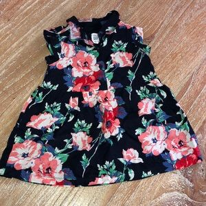 Gap baby girl floral dress
